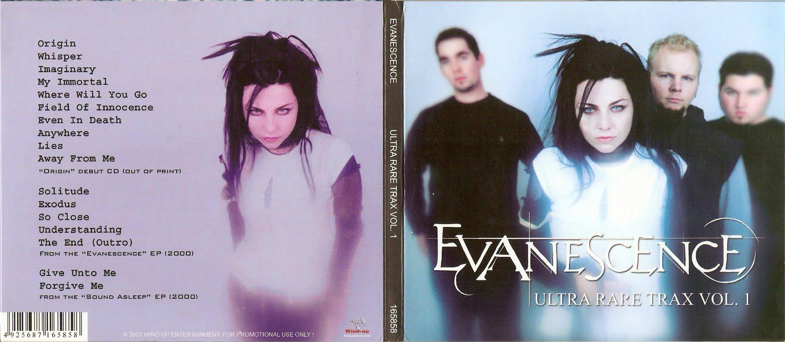 Evanescence ultra rare trax vol 1