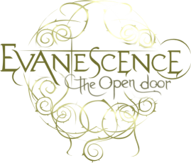 Evanescence The Open Door Logo Design Color.