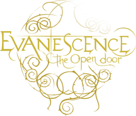 Evanescence The Open Door Logo Design Faded Color